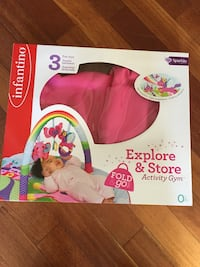 Infantino explore and store activity gym