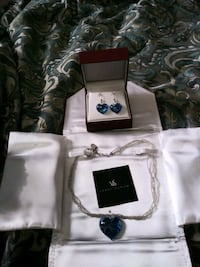 Very Beautiful Handmade glass murano jewelry set Fairborn, 45324