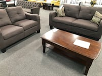 New Couch Sofa Set. Chocolate. Free Delivery ! Norwalk, 90650