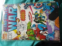Marvel Comics The Infinity War comic book Middleburg, 20117