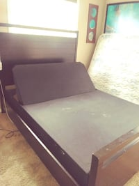 motion bed with frame and remote Edmonton