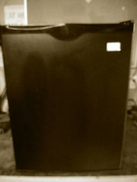 black and gray compact refrigerator Temecula, 92591