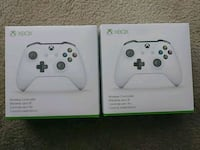 two white Xbox One controllers Raleigh, 27609