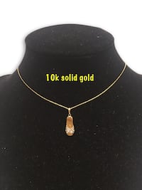 10k diamond necklace  Alexandria, 22304