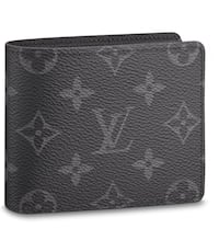 LV Louis Vuitton wallet with Serial Number and original dust bag North Vancouver, V7J 3M2