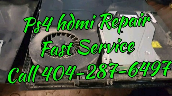 Ps4 Hdmi repair And cleaning service
