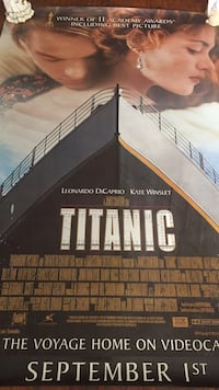 Titanic movie poster Toronto, M1K 4E3