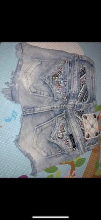 Miss me jean shorts size 8 in girls Chillicothe, 45601