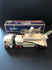 Hess Collectible Truck and Space Shuttle with Satellite