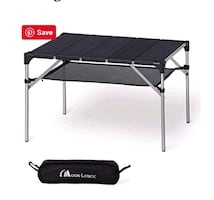 MOON LENCE Portable Camping Table  (NEW)