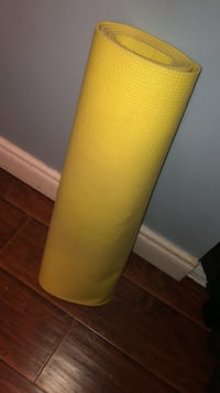 Yellow Yoga Mat