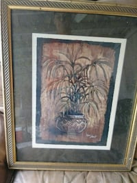 brown wooden framed painting of woman Ocala, 34482
