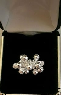 925 sterling silver lots of balls ring Palmdale, 93550