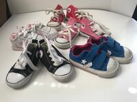 Converse Sneakers Baby/Toddler Size 2,3,4 East Providence, 02916