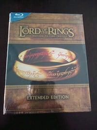BRAND NEW LORD OF THE RINGS TRILOGY BLU RAY DVD Pickering, L1V 3V7