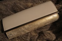 White & Gold Foil Clutch Windsor, N8T 1T6