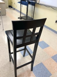 black wooden table with chair Camillus, 13031