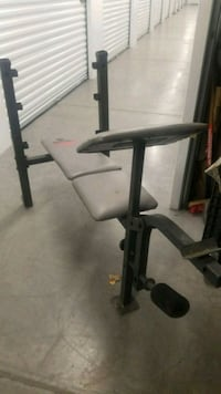 Weight Bench 150bs included