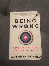Being Wrong Kathryn Schulz novel book Pullman, 99163