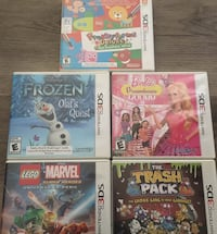 Four nintendo 3ds game cases Edmonton, T5P 3N6