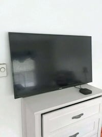 """4k 40"""" toshiba with built in cromecast. Also apple tv 3rd gen"""