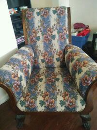 white, blue, and red floral sofa chair Martinsburg, 25405