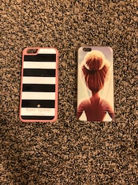 iPhone 6-6s hard case!! They are just like new have been used only 2-3 times each! Orem, 84057