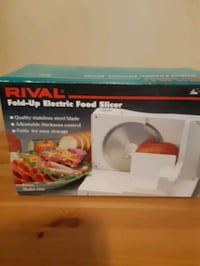 RIVAL Electric Slicer