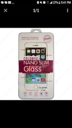 Premium Tempered Glass Protector for Iphone 6 & 7