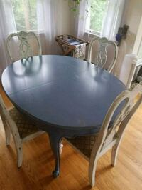 wooden table with four chairs Fairfax, 22030