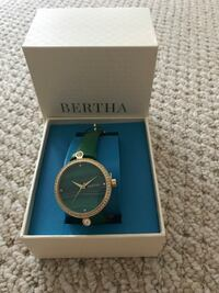 Brand new Bertha watch in green Potomac, 20854