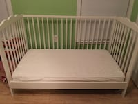 IKEA convertible crib & toddler bed