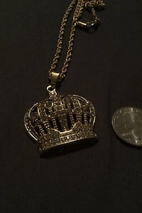 Crown necklace.