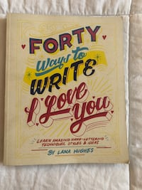 Forty Ways to Write I Love You..