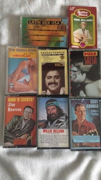 Assorted Vintage Tape Collection  East Providence, 02915
