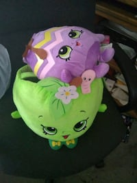 pink and green frog plush toy Modesto, 95350