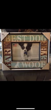 BRAND NEW LSC HOME COLLECTION THEMED DOG PIC FRAME 4 x 6  Richmond, V7A 1N5