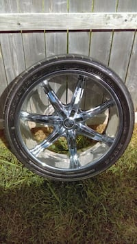 24 inch rims and tires Temple