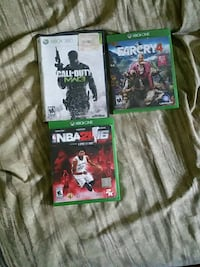 Xbox one and 360 games Milford Mill, 21244