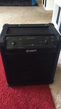 black and gray Line 6 guitar amplifier Hyattsville, 20782