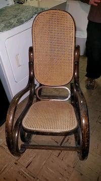 brown wooden framed brown padded chair Massapequa, 11758
