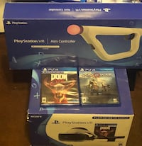 Ps4 VR virtual reality bundle with aim gum El Paso, 79907