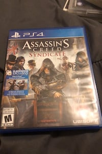 Assassins creed syndicate ps4 Brampton, L6Y 1T8