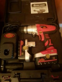 red and black king canada cordless drill Gatineau, J8X 3S3