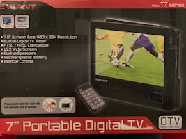 MAKE AN OFFER - Portable digital tv