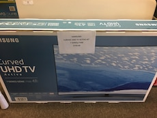 Samsung Curved UHD TV active box