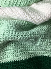 Minty Winter Green Throw  Woodbridge, 22193