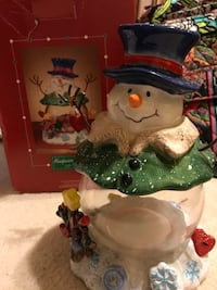 Snowman Candy/Cookie Bowl