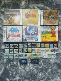 Nintendo 3DS, DS, and GBA Games  Edmonton, T5C