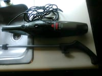 black Xbox 360 console with controller Broussard, 70518